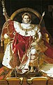 Jean Auguste Dominique Ingres - Napoleon I on the Imperial Throne - WGA11834.jpg