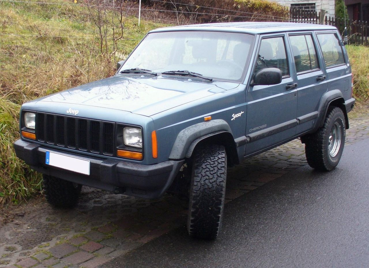 file jeep cherokee sport 4 0 l 4x4 jpg wikimedia commons. Black Bedroom Furniture Sets. Home Design Ideas