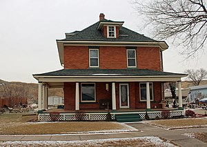 National Register of Historic Places listings in Stanley County, South Dakota - Image: Jefferson Davis Carr House