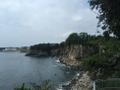 Jeongbang Waterfall coast.png
