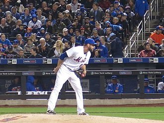 Jim Henderson (baseball) - Henderson pitching for the Mets in 2016.