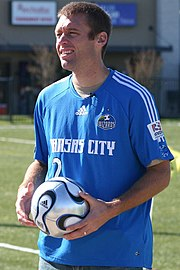 e8dd8adc5 Jimmy Conrad played with Kansas City from 2003 to 2010