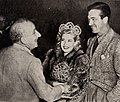 Jimmy Durante, Gloria DeHaven and John Payne, 1945.jpg