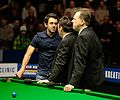 Jimmy White, Ronnie O'Sullivan and Neal Foulds at Snooker German Masters (DerHexer) 2015-02-08 01.jpg