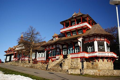 Jiná turistická stavba - areál Pustevny1