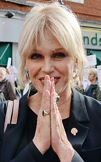 Joanna Lumley English actress and former model