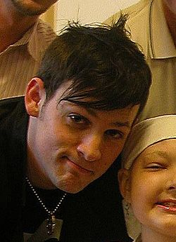 Joel Madden and Alyssa Weishoff in June 2005.jpg