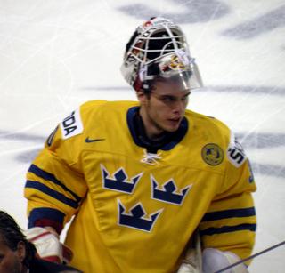 Johan Gustafsson Swedish ice hockey goaltender