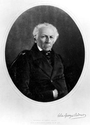 Johann Georg Bodmer - c.1850s engraved by Samuel Bellin