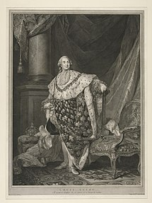 Portrait of King Louis XVI; after Joseph Duplessis (Source: Wikimedia)