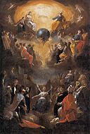 Johann Heinrich Schönfeld - Adoration of the Holy Trinity - WGA21055.jpg