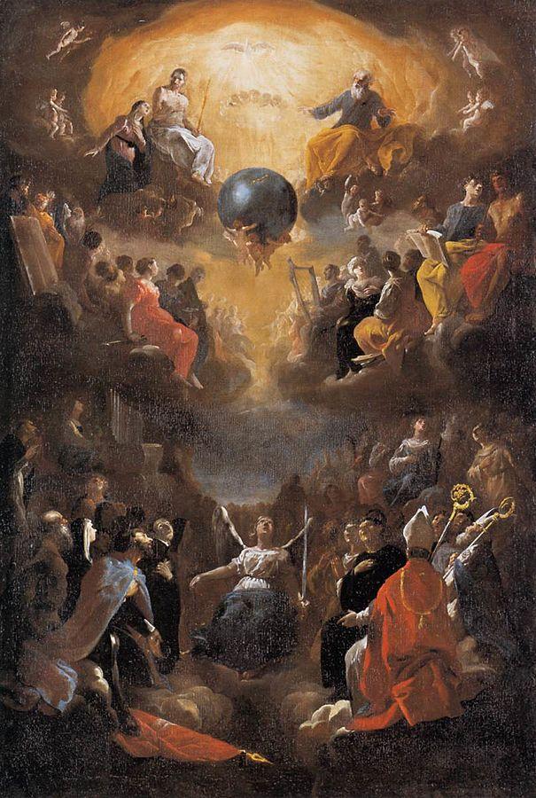 Adoration of the Holy Trinity
