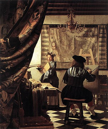 Johannes Vermeer - The Art of Painting - WGA24673