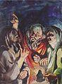 Johannessen - Christus und der Taubblinde - 1921-22.jpeg
