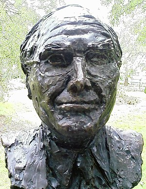 Peter Nicholson (cartoonist) - Image: John Howard bust