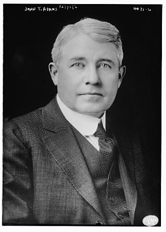 John T. Adams - Image: John Taylor Adams (December 22, 1862 – October 28, 1939)
