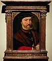 Joos van cleve, ritratto di un uomo barbuto con un pugnale.jpg
