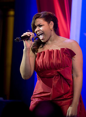 American Idol winner Jordin Sparks performs at...