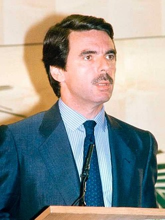 José María Aznar - Aznar in June 1996, soon after being sworn to office as Prime Minister