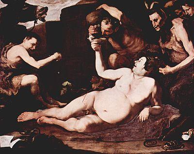 Drunken Silenus, 1626, Museo di Capodimonte, Naples