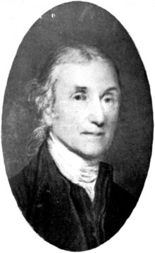 alt-portrait of Joseph Priestley, appears circa 1800