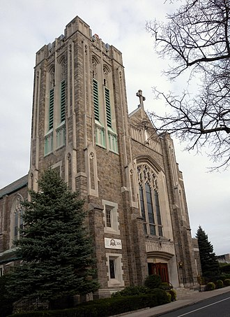 Church of St. Joseph (Bronxville, New York) - St. Joseph's front facade