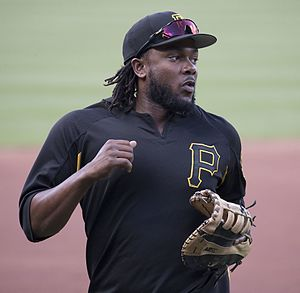 Josh Bell (baseball, born 1992) - Bell with the Pittsburgh Pirates