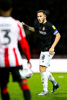 Josh Brownhill English footballer