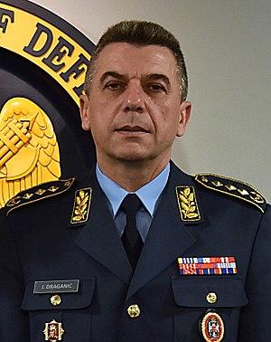 Serbian General Staff - Image: Jovica Draganić