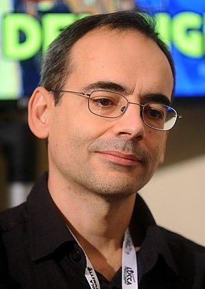 Juan Díaz Canales - Juan Diaz Canales at Lucca Comics & Games 2015