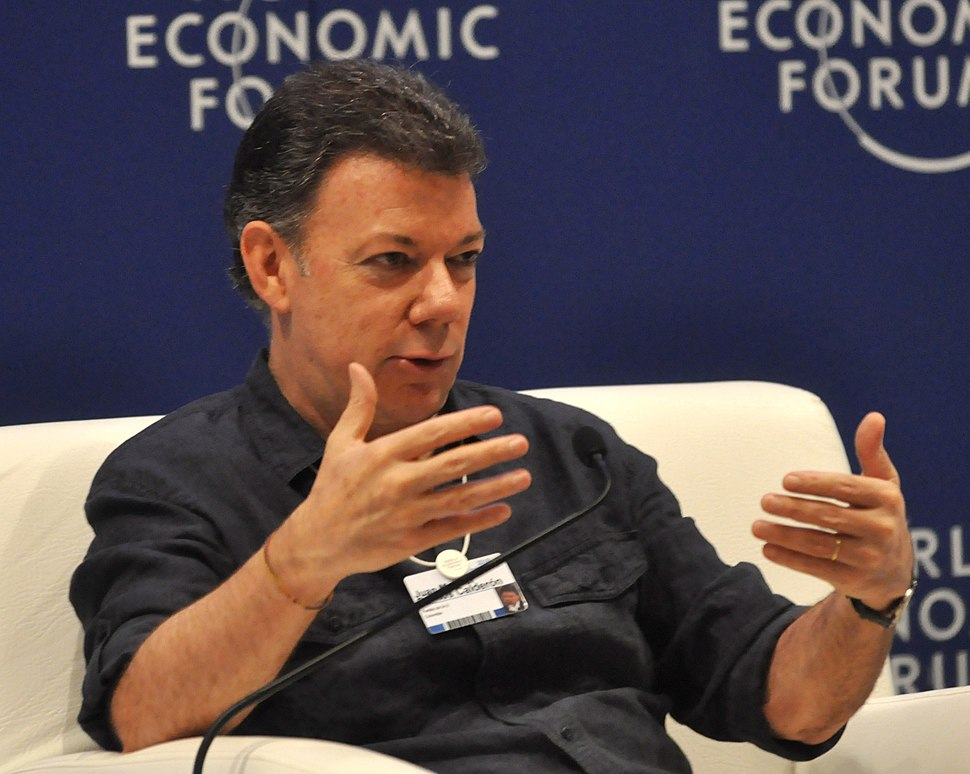 Juan Manuel Santos Calder%C3%B3n - World Economic Forum on Latin America 2010