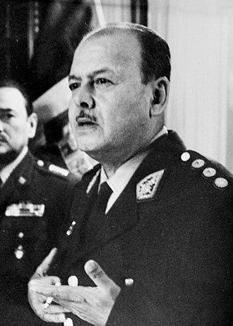 Juan Velasco Alvarado - Image: Juan Velasco Alvarado 1971