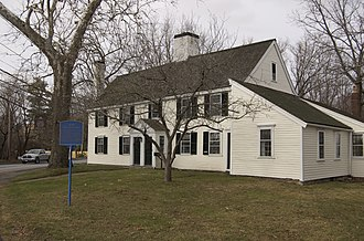 Samuel Holten - Samuel Holten lived in this house in Danvers, Massachusetts.