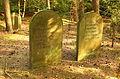 Juedischer Friedhof Westerkappeln Grabmale Daniel und Bella Block 01.JPG
