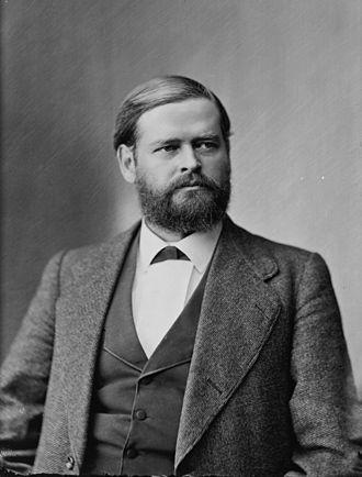 Julius C. Burrows - Julius C. Burrows as a younger congressman