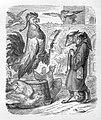 Julius Schnorr, Zeichnung, Reinecke Fuchs, Gesang 1, Abbildung 5, nach W. v. Kaulbach, D2104-1,5.jpg