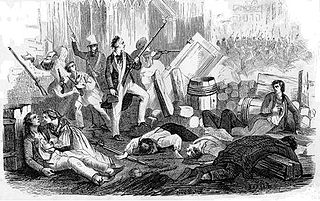 rebellion in Paris in June 1832