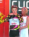 Jurgen Roelandts, Stirling podium, TDU 2010 Stage 3.JPG
