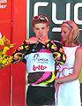 Jurgen Roelandts, Stirling podium, TDU 2010 Stage 3.JPG