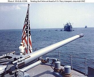 "5""/51 caliber gun - Image: K11398"