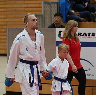 Noah Bitsch German karateka