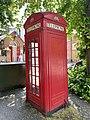 K2 telephone kiosk opposite 10a South Grove, July 2021.jpg