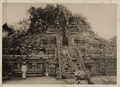 KITLV 40001 - Kassian Céphas - West or back of the Shiva Temple of Prambanan near Yogyakarta - 1889-1890.tif