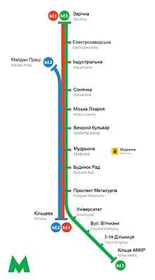 схема скоростного трамвая кривой рог