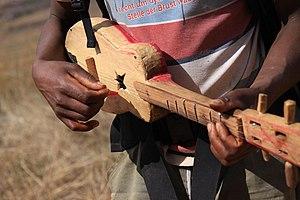 Kabosy - A guitar-shaped Kabosy.