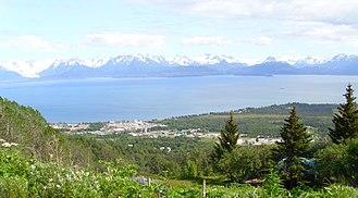Kachemak, Alaska - Image: Kachcity