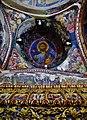 Kakopetria Kirche Agios Nikolaos tis Stegis Innen Kuppel & Ikonostase.jpg