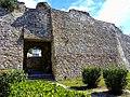 Kalaja në qytetin e Durrësit- muri rrethues 11.jpg