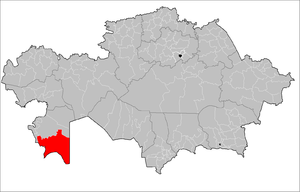 Karakiya District - Image: Karakiya District Kazakhstan