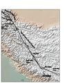 Karakorum fault superimposed on top of topographic map.pdf